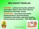 biologick rozklad