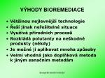 v hody bioremediace
