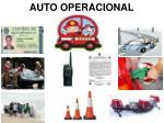 auto operacional