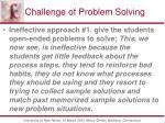 challenge of problem solving1