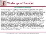 challenge of transfer1