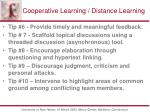 cooperative learning distance learning5