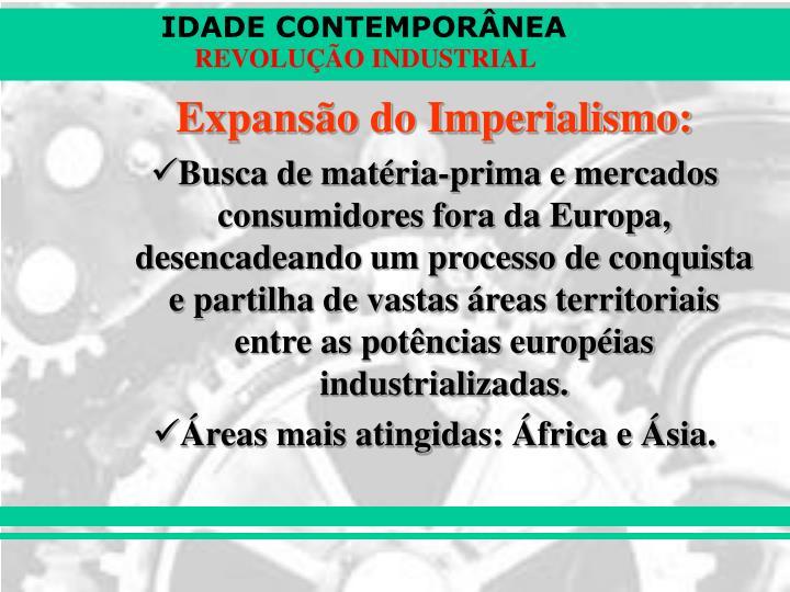 Expansão do Imperialismo: