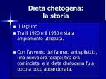 dieta chetogena la storia