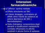 interazioni farmacodinamiche1