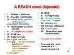 a reach c mei fejezetei