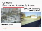 campus evacuation assembly areas