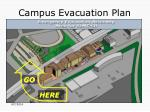 campus evacuation plan
