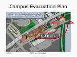 campus evacuation plan1