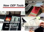 new oep tools