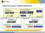 deployment scenario 2 regional deployments