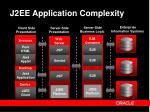 j2ee application complexity