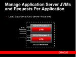 manage application server jvms and requests per application