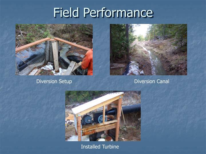 Field Performance