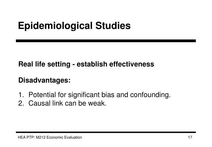 Epidemiological Studies