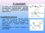 a peptidek