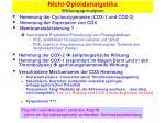 nicht opioidanalgetika wirkungsprinzipien1