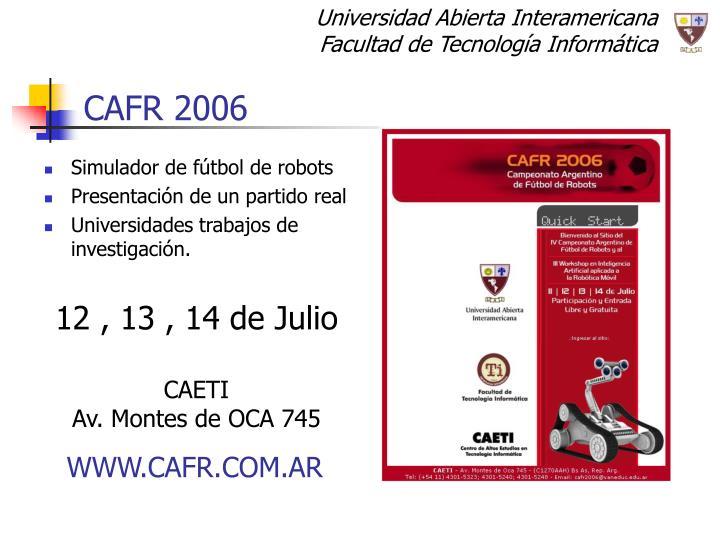 CAFR 2006