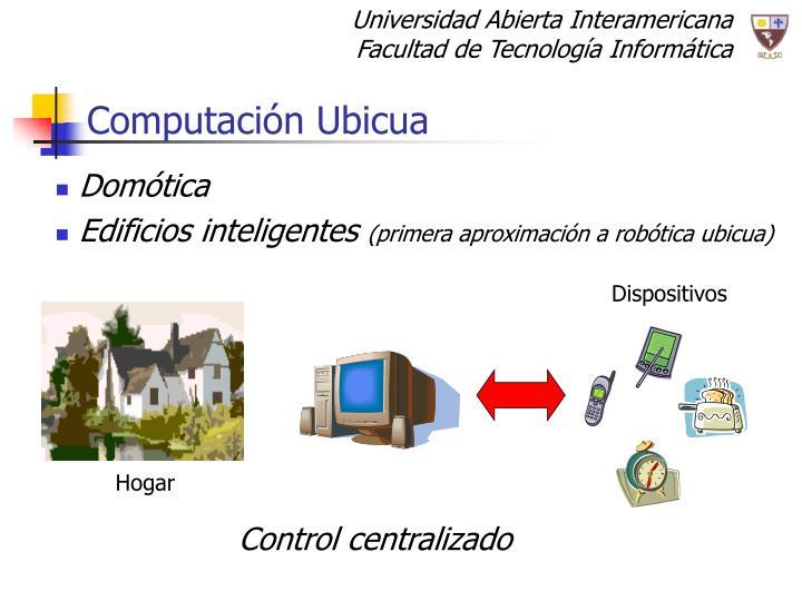 Computación Ubicua