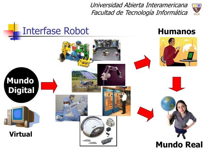 Interfase Robot