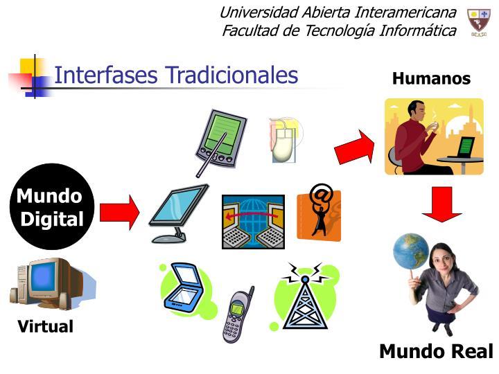 Interfases tradicionales