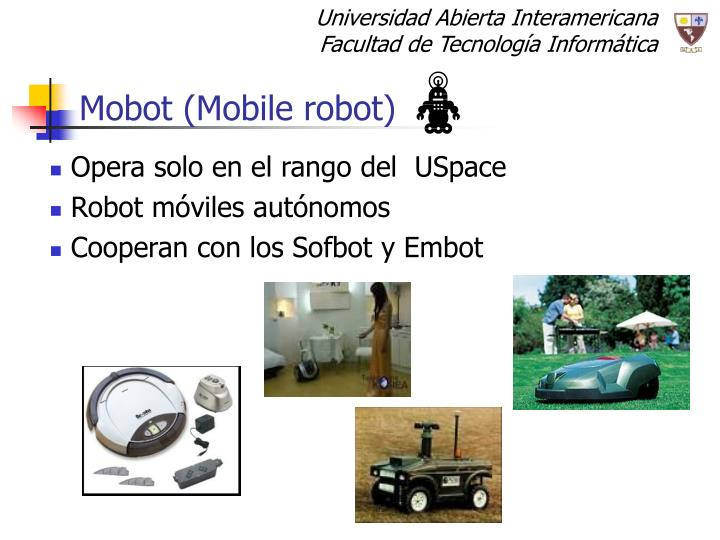 Mobot (Mobile robot)