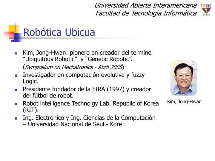 Robótica Ubicua