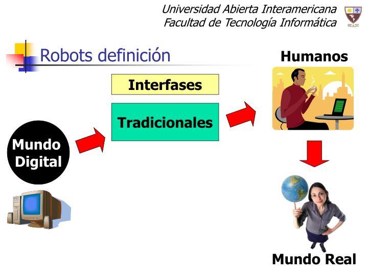 Robots definici n