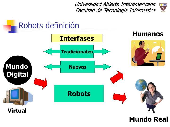 Robots definición