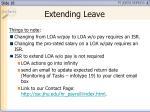 extending leave1