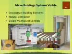 make buildings systems visible