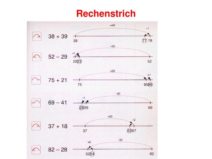 Rechenstrich