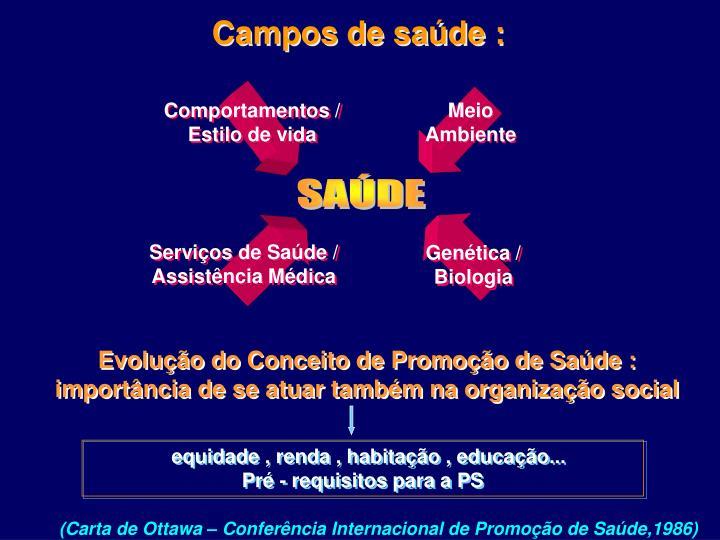 Campos de saúde :