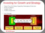 investing for g rowth and strategy