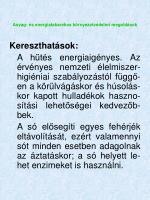 anyag s energiatakar kos k rnyezetv delmi megold sok47