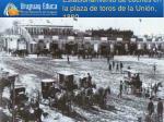 estacionamiento de coches en la plaza de toros de la uni n 1880