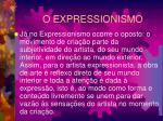o expressionismo3