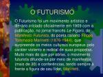 o futurismo1
