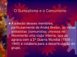 o surrealismo e o comunismo1