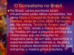 o surrealismo no brasil