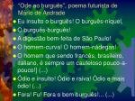 ode ao burgu s poema futurista de m rio de andrade