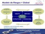 modelo de riesgos global