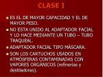 clase i