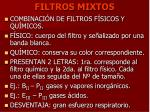 filtros mixtos