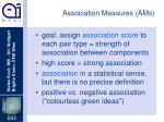 association measures ams