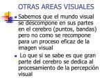 otras areas visuales