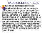 radiaciones opticas