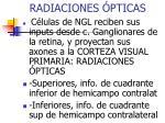 radiaciones pticas