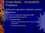 crude media accessibility problems1