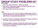 group study problems 21